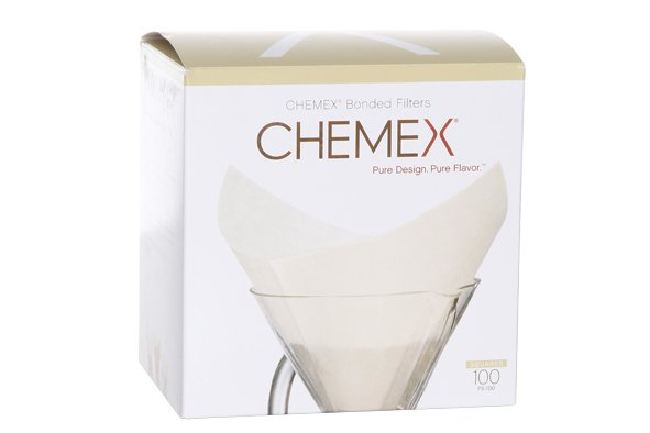 Chemex Chemex Filter Prefolded Sq Set100
