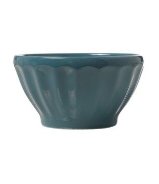 Cosy & Trendy Facetta - Bowl - D14xh7.5cm - Turquoise - (set van 6).