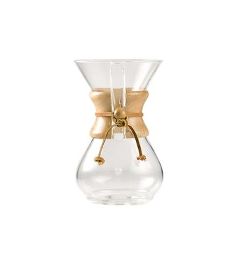 Chemex Chemex Classic Coffee Maker 6cupto Use W. Filter Fs-100 Or Fc-100