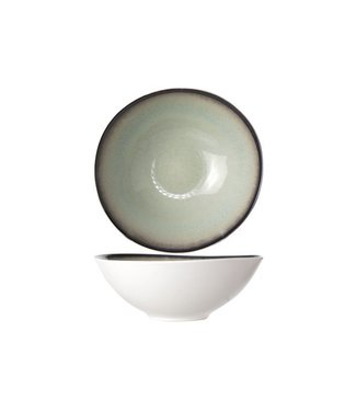 Cosy & Trendy Fez Verde Platos Hondos-schaal D18cm - Ceramica - (Conjunto de 6)