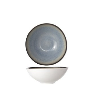 Cosy & Trendy Fez Servies Blauw Diepe Borden-schaal - Aardewerk - D18cm (set van 6)