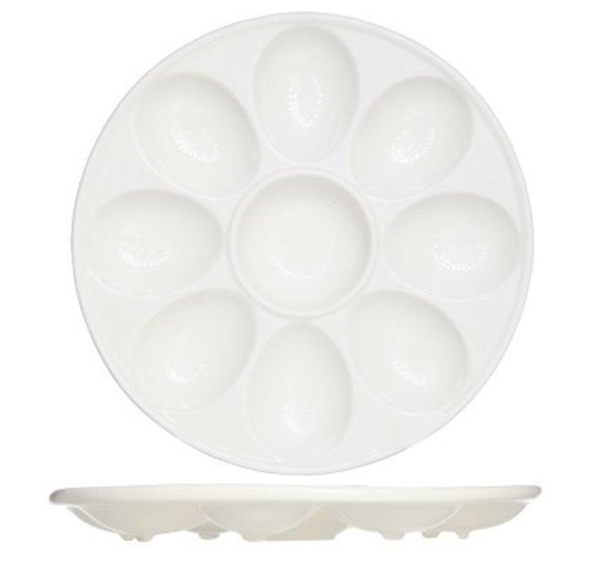 Presentation Plate For Eggs D21xh2.5cm (3er Set)