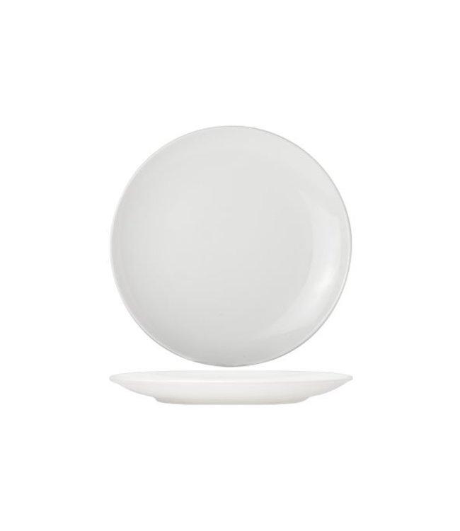 Cosy & Trendy For Professionals Adesso - Dinerbord - Wit - D24cm - Porselein - (Set van 6)