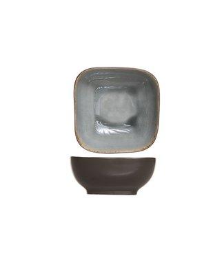 Cosy & Trendy Laguna Blue-gray Salad bowl 14x14xh6cm set of 6