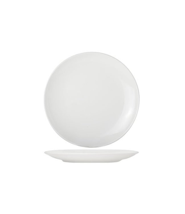 Cosy & Trendy For Professionals Adesso - Dinerbord - Wit - D27cm - Porselein - (set van 6)