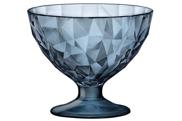 Bormioli Diamond Junior Ijscoupe 22 Cl Blauw (set van 12)
