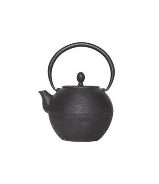 Cosy & Trendy Akita-Black - Teekanne mit Filter - 1,25 l - Gusseisen