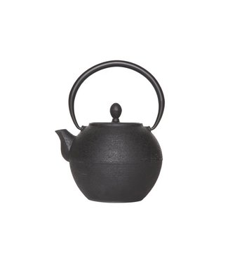 Cosy & Trendy Teapot Cast Iron 1,25l Akita Blackwith Filter Tsp72