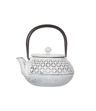 Cosy & Trendy Tokyo Cream Teapot With Filter 0.85l Cast Iron