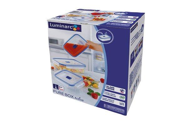 Luminarc Pure Box Actiive Rechth.set 3