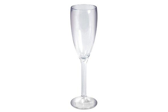 Araven Champagneglas Transparant 18cl Polycarbonaat