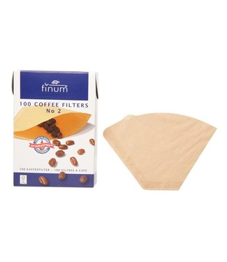Finum Finum 100 Filters For Coffee Nr2 (set of 12)