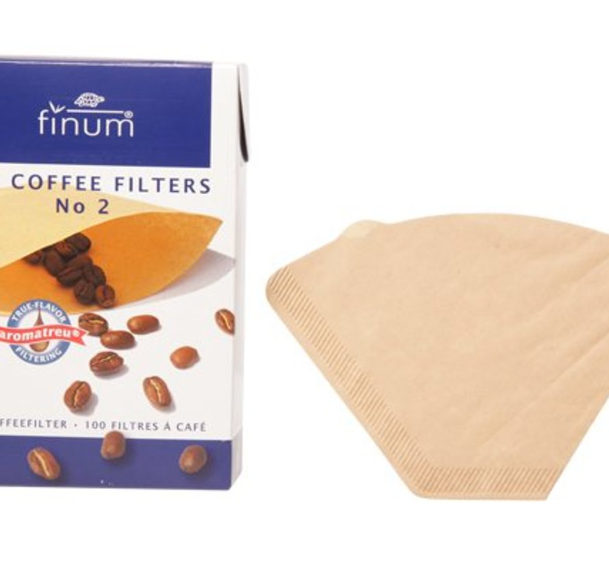 Finum 100 Filters For Coffee Nr2 (12er Set)