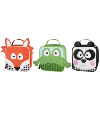 Thermos Lunch Kit With Backstraps Forest Friends3 Ass Frog Panda Fox (set of 6)