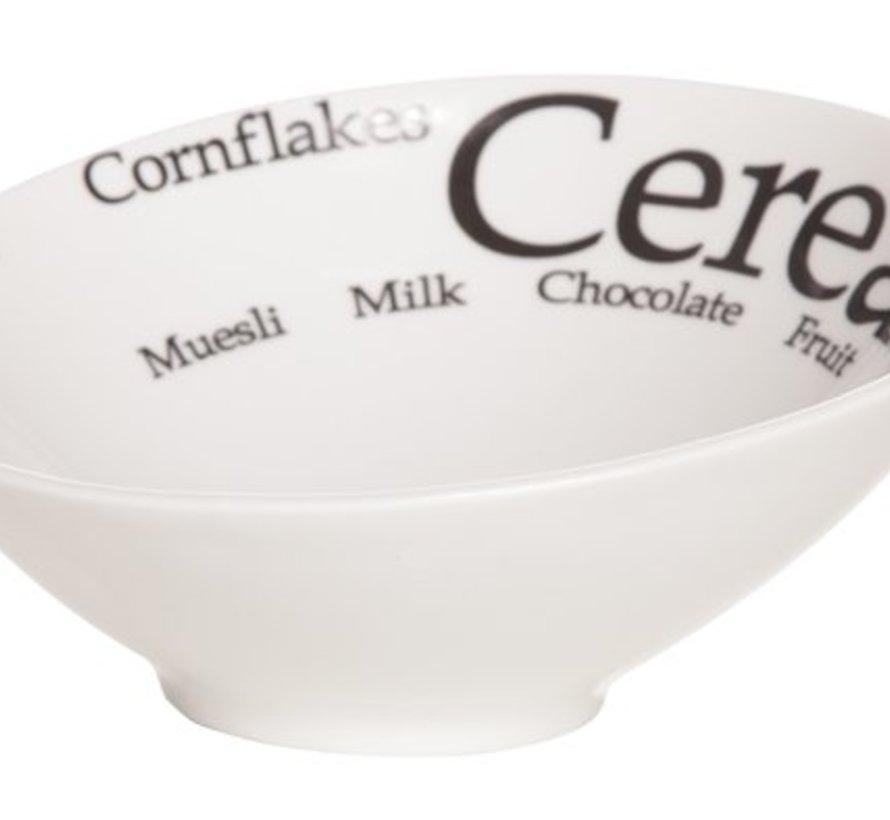 Trinity Bol 'cereals' D17.5xh8.3cm (set van 6)