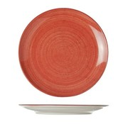 Cosy & Trendy For Professionals Twister Red Dinner Plate D21cm