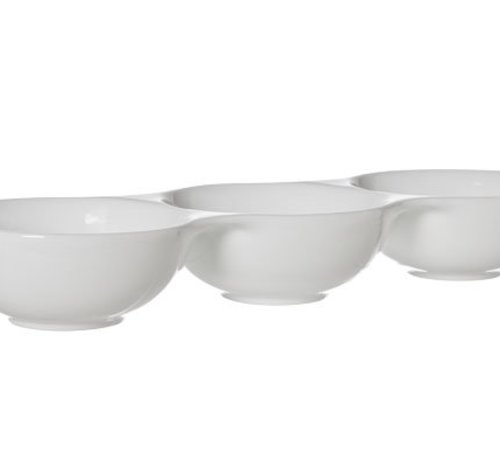 Cosy & Trendy Bolzano Bowl 3 Compartments 37x12.8xh5.2