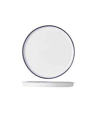 Cosy & Trendy Antoinette Dessert Plate D19.5xh1.5cm - Ceramic - (Set of 6)
