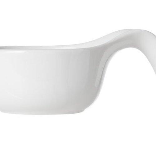 Cosy & Trendy Dish White D7.8-11xh5cm Set3 Spoon Shape (6er Set)