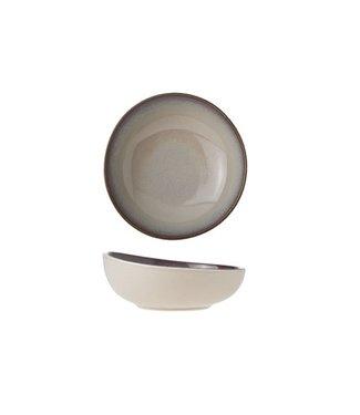 Cosy & Trendy For Professionals Vigo Joy - Kommetje - Beige - D14xh7cm - Porselein - (Set van 6).