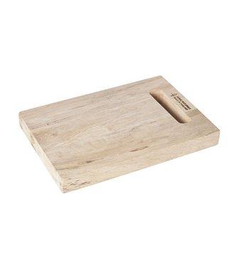 Cosy & Trendy Snijplank Hout Rechthoekig 33x22.5x3.5cm