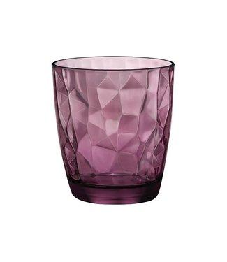 Bormioli Diamond Dof Tumbler 39 Purple (6er Set)