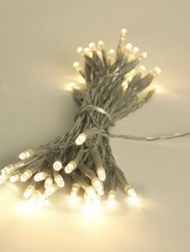 Light Creations Showlight Led 5m 40l Warm Weiss Indoortransp Draht- Modulator - Batt-plug