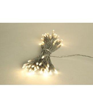 Light Creations Showlight Led 5m 40l Warrm Wit Indoortransp Draad - Modulator - Batt-plug