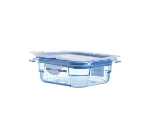 Araven Gnbox Blauw  Gn1-6 H65mm 1.1l - Dekselairtight - Bpa Free