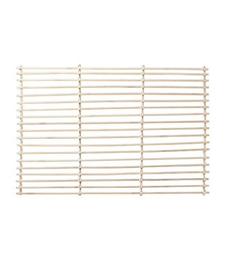 Cosy & Trendy Bamboo - Pad - 60x40xh1cm - Wood - (Set of 6).