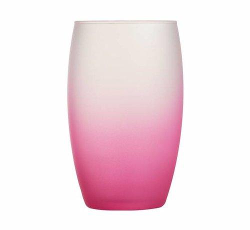 Luminarc Frost Pink Glas Fh 36cl (set van 6)