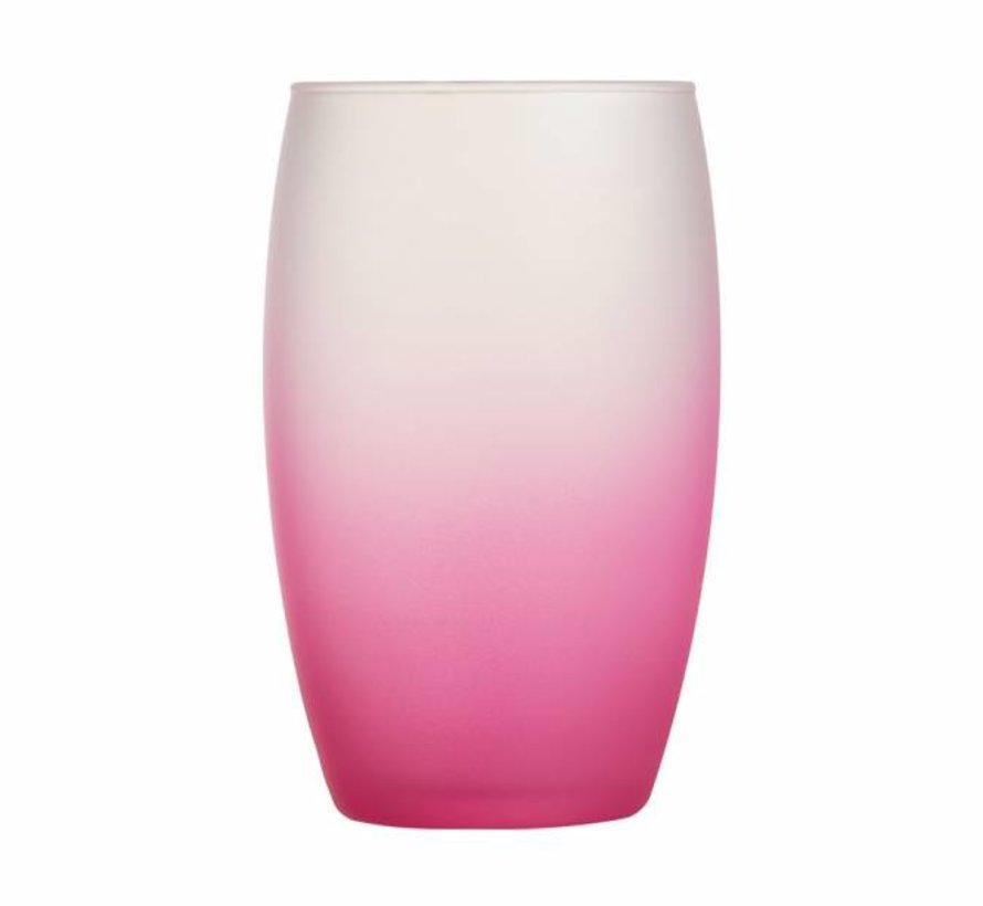 Frost Pink Glas Fh 36cl (set van 6)