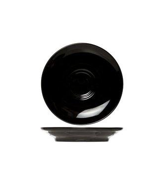 Cosy & Trendy For Professionals Barista Black Ondertas D16cmvoor Tas 20-30-45cl (set van 12)