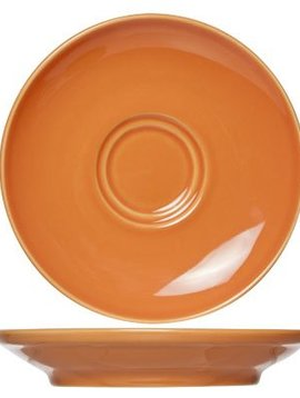 Cosy & Trendy For Professionals Barista Orange Saucer D16cmfor Cup 20-30-45cl