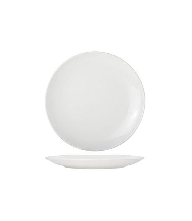 Cosy & Trendy For Professionals Adesso - Dessertbord - Wit - D21cm - Porselein - (Set van 6).