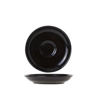 Cosy & Trendy For Professionals Barista Black Ondertas D13cm voor Tas 7-15cl  Aardewerk - (Set van 12)