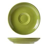 Cosy & Trendy For Professionals Barista Green Koffiebordje D13cmvoor Tas 7-15cl set van 12