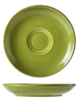 Cosy & Trendy For Professionals Barista Green Saucer D13cmfor Cup 7-15cl