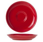 Cosy & Trendy For Professionals Barista Red Ondertas D13cmvoor Tas 7-15cl (set van 12)
