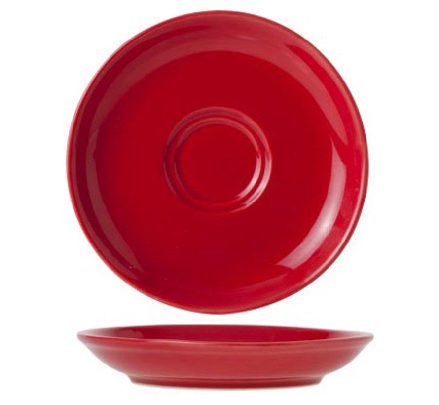 Barista Red Ondertas D13cmvoor Tas 7-15cl (set van 12)