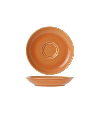 Cosy & Trendy For Professionals Barista Orange Saucer D13cmfor Cup 7-15cl (set of 12)