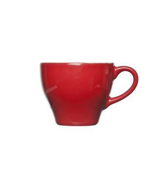 Cosy & Trendy For Professionals Barista - Red - Espresso cups - 15 cl - Earthenware - D8xh6.5cm - (set of 12)