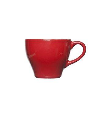 Cosy & Trendy For Professionals Barista - Rot - Espressotassen - 15 cl - Steingut - D8xh6.5cm - (12er Set)