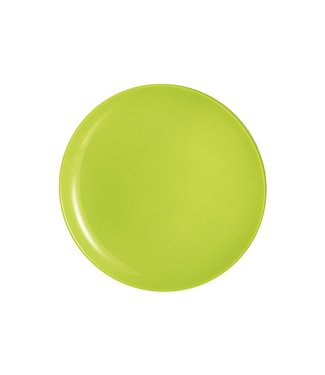 Luminarc Arty Anis Tableware - Plates - 26cm - Green - Glass - (set of 6)