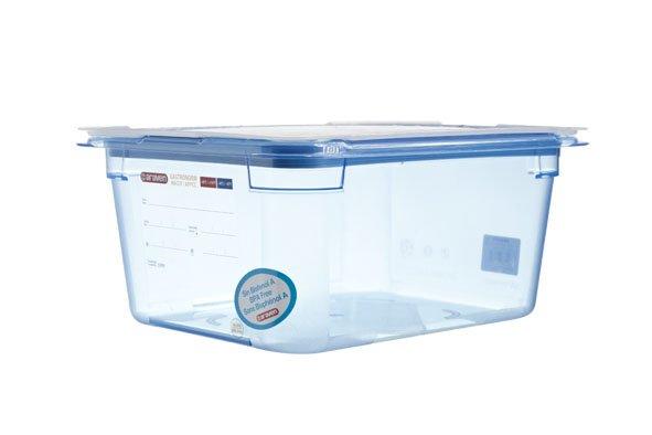 Araven Gnbox Blauw  Gn1-2 H150mm 9.5l-dekselairtight-bpa Free