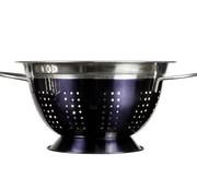 Cosy & Trendy Colander Round 24cm Black Rvs