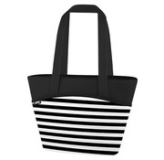Thermos Black White Stripes 9 Can Lunchtote 7.5l5h Cold