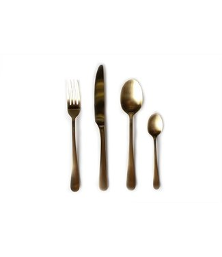 Amefa Retail Vintage 24 Piece Cutlery Set Goldgiftbox