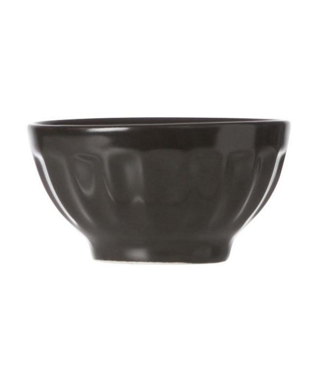 Cosy & Trendy Aperopotje - Zwart - D6.5xh3.5cm - Keramiek - (set van 6)