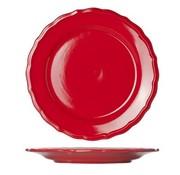 Cosy & Trendy Juliet Red Dessertbord Blinkend D21.6cm (set van 12)